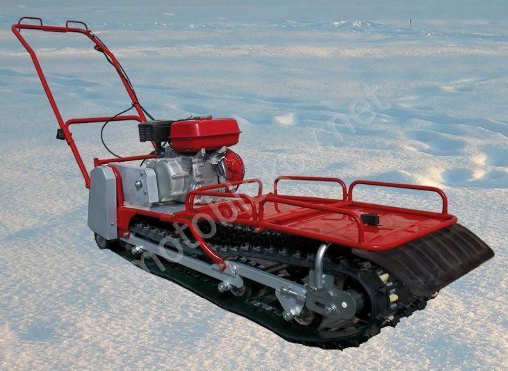 Снегоходная приставка к мотоблоку своими руками 66